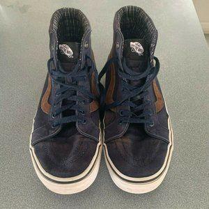 Vintage Vans Old Skool Blue High Tops Sneakers 10